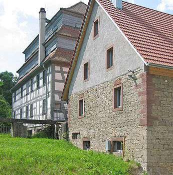 1097. Papiermühle Homburg, Umbau Generator