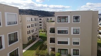 1204. Neues Wohnen Brunostraße in Würzburg, Neubau von 9 Wohngebäuden und  Tiefgarage