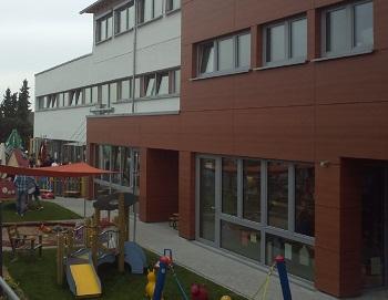 1155. Kindergarten St. Norbertus Waldbrunn, Sanierung und Erweiterung einer Kleinkindergruppe
