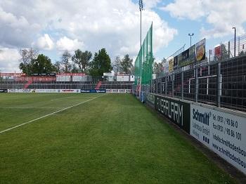 1297.  Stadionmodernisierung flyeralarm Arena Würzburg, Erweiterung Sicherheitsbeleuchtung